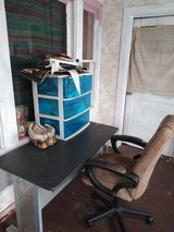 Desk and chair in Leesville, Louisiana