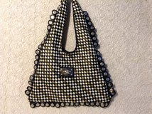 New- 100%Vegan large purse in black,white and gold checkered soft faux leather in 29 Palms, California