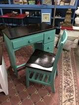 Wood desk and chair in Alamogordo, New Mexico