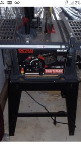 craftsman 2hp table saw in Baytown, Texas