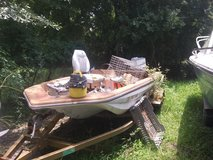 cajun bass boat with 90 hp johnson and trailer in Baytown, Texas