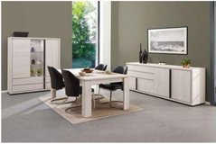 United Furniture - Marcel Dining Set in White Oak-China-Table-4 Chairs with delivery in Stuttgart, GE