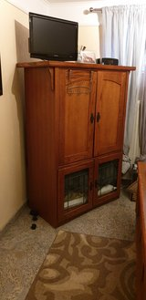 Free Wooden Armoire (tv or storage) in Ramstein, Germany