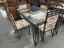 Kitschy Kellogg's Dining Set, Glass Topped Table and 4 Chairs in Westmont, Illinois