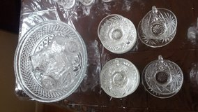 Vintage Anchor Hocking Crystal Set in Alamogordo, New Mexico