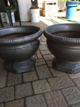 MATCHING GRECIAN FLOWER POTS in Joliet, Illinois