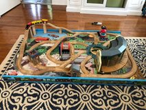 "Thomas the Train floor ""table"" with tracks in St. Charles, Illinois"