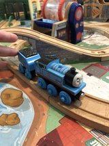 Thomas the Train with coal car in St. Charles, Illinois