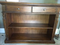 Wood bookcase, 2 drawers in Tinley Park, Illinois