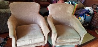 Set of 2 Matching Arm Chairs in Travis AFB, California
