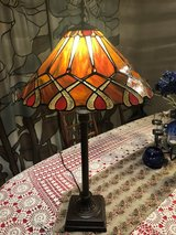Tiffany-style Stained Glass Table Lamp in Travis AFB, California