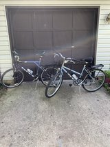 His and hers GT bicycles with upgrades in Batavia, Illinois