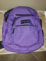 JanSport Big Student Backpack - Purple in Travis AFB, California