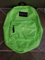 JanSport SuperBreak Backpack - Neon Green in Travis AFB, California