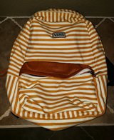 Vans Gold Striped Backpack in Travis AFB, California