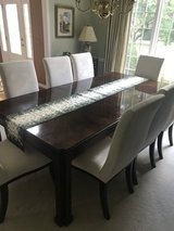 "Dining Room Table and 8 Chairs Plus 2 20"" Leafs in Westmont, Illinois"