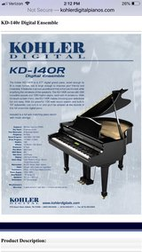 KOHLER Digital Baby Grand Piano in Batavia, Illinois