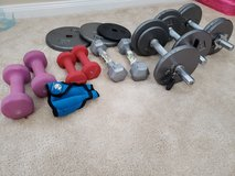 Hand weights and dumbells in Kingwood, Texas