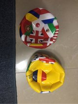 world soccer balls in Okinawa, Japan