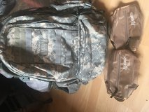 camelbak backpack boots and e5 patchs in Ramstein, Germany