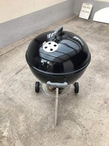 Weber Charcoal grill with accessories in Ramstein, Germany