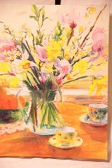 Lovely watercolor on canvas in Tomball, Texas