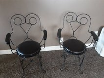 Set of Ice Cream Parlor Chairs in Conroe, Texas