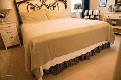 King Size Bedspread and Pillow Shams in Conroe, Texas
