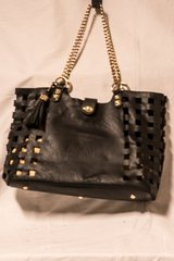 Black and Camel Purse in Tomball, Texas