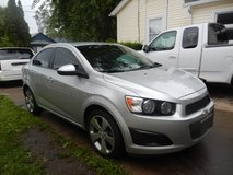 2014 CHEVROLET SONIC MANUAL TRANSMISSION. in St. Charles, Illinois