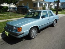 1986 PLYMOUTH RELIANT K in Yorkville, Illinois