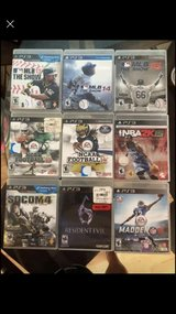 games for PS3 in Fairfield, California