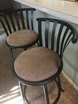 2 Swivel Bar Stools in Tinley Park, Illinois