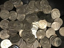 50 eisenhower silver dollars (no silver) in Plainfield, Illinois
