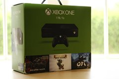X Box One 1TB - missing Power Supply - Includes 3 games in Ramstein, Germany