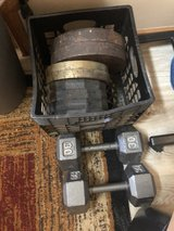 weight bench and weights in Joliet, Illinois