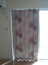 Japanese Blackout Curtains Tropical Flower in Okinawa, Japan