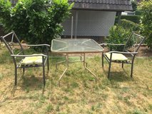 patio desk & 2 chairs in Ramstein, Germany