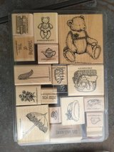 Stamping Up Wooden Art Stamps in Ramstein, Germany