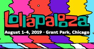 Lalapalooza 4- day passes in Glendale Heights, Illinois