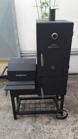 Rivergrille Vertical smoker and grill in Ramstein, Germany