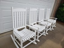 Rocking chairs (4) in Fort Campbell, Kentucky