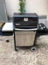 Weber Spirit Propane grill with tank in Ramstein, Germany