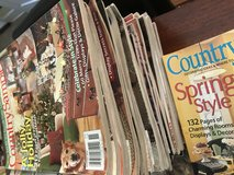Country sampler magazines in Camp Lejeune, North Carolina