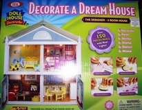 Brand New In Box Build A 4 Room Doll House in Alamogordo, New Mexico