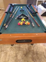 Space saver pool table in 29 Palms, California