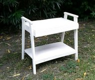 White Plant Stand in Pasadena, Texas