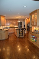 Complete Custom Kitchen Cabinet Set, Appliances, Countertops, Island, Chairs, Stools in Naperville, Illinois
