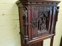 Carved Oak Cupboard Free Delivery in Great Lakes, Illinois