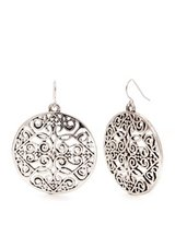 CLEARANCE ***BRAND NEW***Round Large Disc Filligree Drop Earrings*** in Kingwood, Texas